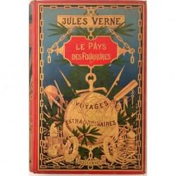 Le Pays des Fourrures. Voyages Extraordinaires. Ilustrado por Férat & de Beaurepaire.