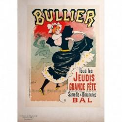 "Afiche para el ""Bal Bullier""."