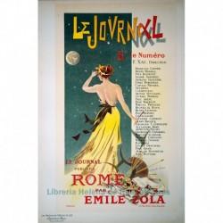 """Afiche para anunciar la publicación de """"Rome"""", en Le Journal."""