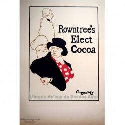 "Afiche inglés para el ""Rowntree's Elect Cocoa"""