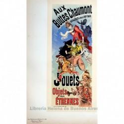"""Afiche para la revista """"Buttes Chaumont"""" (Juguetes)"""