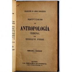 Estudios de antropología criminal