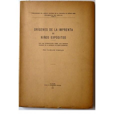 Orígenes de la Imprenta de Niños Expósitos