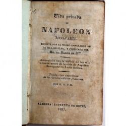 Vida privada de NAPOLEON BONAPA RTE
