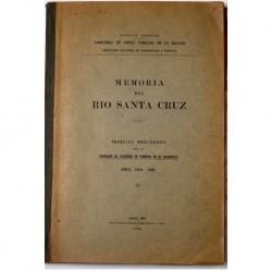 Memoria del río Santa Cruz.