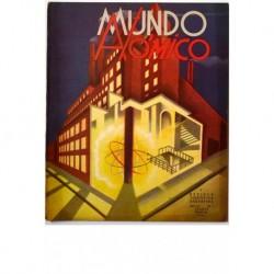 MUNDO ATÓMICO. Colección completa de 23 revistas