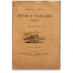 Tipos y paisajes criollos. Primera serie. Ilustraciones por FORTUNY [Francisco].